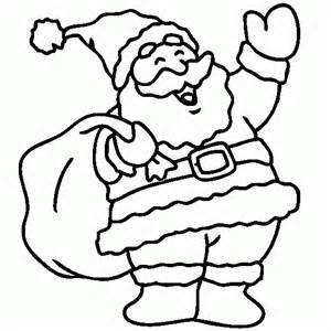 Le Père Noël Avec Sa Hotte